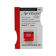 FARBA AKWARELOWA DALER-ROWNEY ARTISTS HALF PAN 526 CADMIUM RED PALE (HUE) (B)