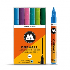 Markery Molotow One4all 127HS 6 Basic Set 2 200231