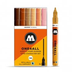 Markery Molotow One4all 127HS 6 Charcter Set 200232