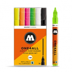 Markery Molotow One4all 127HS 6 Neon Set 200173
