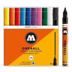 Markery Molotow One4all 127HS 10 Basic Set 1 200450