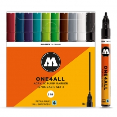 Markery Molotow One4all 127HS 10 Basic Set 2 200451