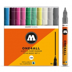 Markery Molotow One4all 127HS 10 Basic Set 3 200478