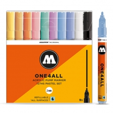 Markery Molotow One4all 127HS 10 Pastel Set 200452
