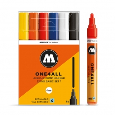 Markery Molotow One4all 227HS 6 Basic Set 1 200453