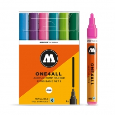 Markery Molotow One4all 227HS 6 Basic Set 2 200454