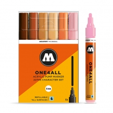 Markery Molotow One4all 227HS 6 Charcter Set 200455