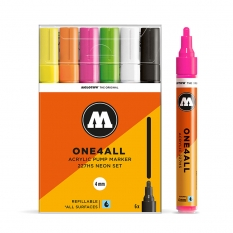 Markery Molotow One4all 227HS 6 Neon Set 200166