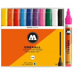 Markery Molotow One4all 227HS 10 Basic Set 1 200456