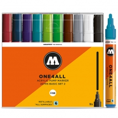Markery Molotow One4all 227HS 10 Basic Set 2 200457