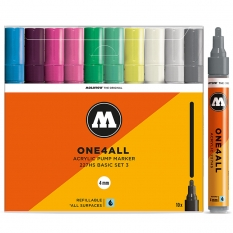 Markery Molotow One4all 227HS 10 Basic Set 3 200479