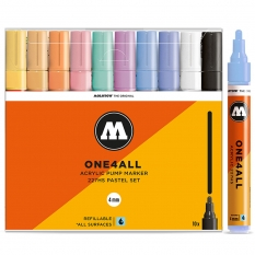 Markery Molotow One4all 227HS 10 Pastel Set 200458