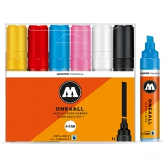 Markery Molotow One4all 327HS 6 Chisel Tip Set 200280