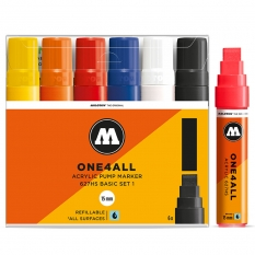 Markery Molotow One4all 627HS 6 Basic Set 1 200459