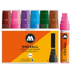 Markery Molotow One4all 627HS 6 Basic Set 2 200460