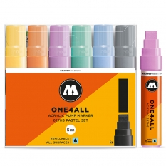 Markery Molotow One4all 627HS 6 Pastel Set 200461
