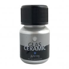 Farba do Szkła Schjerning Glass Ceramic 35 ml Silver 4362
