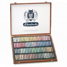 PASTELE SCHMINCKE FINEST EXTRA SOFT ARTISTS PASTELS 100 WOODEN BOX 77100
