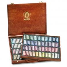 PASTELE SCHMINCKE FINEST EXTRA SOFT ARTISTS PASTELS 200 WOODEN BOX 77200
