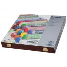 PASTELE SCHMINCKE FINEST EXTRA SOFT ARTISTS PASTELS 45 WOODEN BOX 77245