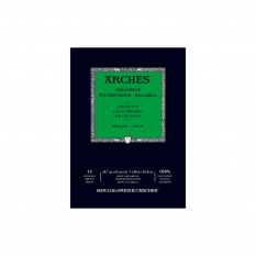 Blok Akwarelowy Arches Cold Press Natural White 300 Gsm A3 12 ark. A1795094