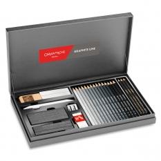 Zestaw do Szkicowania Caran d'Ache Graphite Line Gift Box Set 3000415