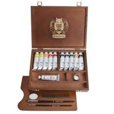 Farby Olejne Schmincke Norma Professional Wooden Box 11 X 35 Ml 71310097