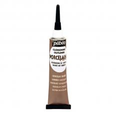 KONTURÓWKA DO PORCELANY PEBEO PORCELAINE 150 20 ML 12 SHIMMER CHOCOLATE