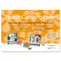 BLOK HOLTZ PERFECT COLOURING PAPER 250 GSM 10 ARK. A3 07011