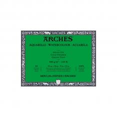 BLOK AKWARELOWY ARCHES COLD PRESS NATURAL WHITE 300 GSM 23 X 31 CM 20 ARK. 1795060