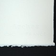 Papier Akwarelowy Arches Natural White 300 gsm Hot Pressed 56 x 76 cm A1795017