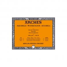 Blok Akwarelowy Arches Rough Natural White 300 gsm 23 x 31 cm 20 ark. A1795085