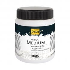 Medium Do Akrylu Kreul Solo Goya Acrylic Medium Structure Paste 250 Ml CoarsE-Sand 85605