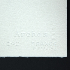 PAPIER AKWARELOWY ARCHES NATURAL WHITE 185 GSM COLD PRESED 56 X 76 CM 1794999