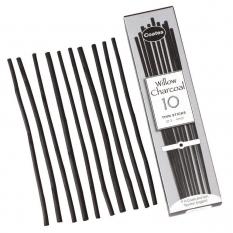 Węgiel do Rysowania Coates Willow Charcoal 3 - 4 mm 10 szt. 62000