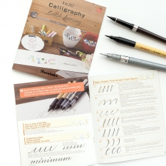 PRZEWODNIK PO BRUSH LETTERINGU A TO ZIG CALLIGRAPHY BRUSH LETTERING INTX500-801