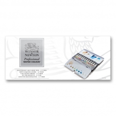 FARBY AKWARELOWE WINSOR & NEWTON PROFESSIONAL WATER COLOUR 12 X 5 ML LIGHTWEIGHT SKETCHERS BOX