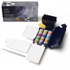 Farby Akwarelowe Winsor & Newton Professional Water Colour 12 Half Pans Field Box