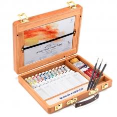 Farby Akwarelowe Winsor & Newton Professional Water Colour 12 x 5 ml Bamboo Box