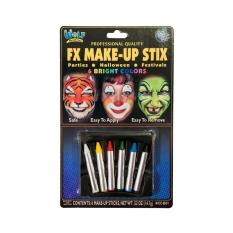 Kredki Do Malowania Twarzy 6 Wolf Regular Makeup Sticks Bright Wccb01