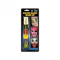 Farby Do Malowania Twarzy 6 Wolf Water Based MakE-Up Bright Wac6e