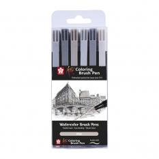 Brush Pen Sakura Koi 6 Urban Xbr6a
