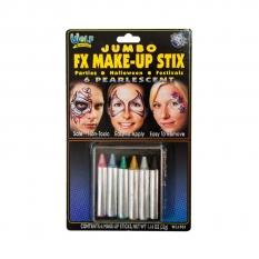Kredki Do Malowania Twarzy 6 Wolf Jumbo Makeup Sticks Pearl Wcjp01