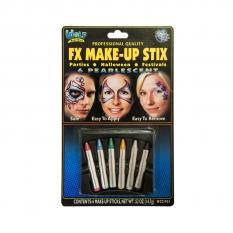 Kredki Do Malowania Twarzy 6 Wolf Regular Makeup Sticks Pearl Wccp01