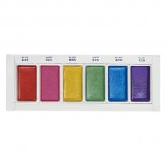 Farby Kuretake Gansai Tambi Gem Colors 6 set
