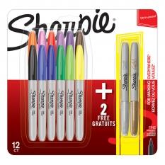 Markery Sharpie Fine 12+2 ShP-2061126