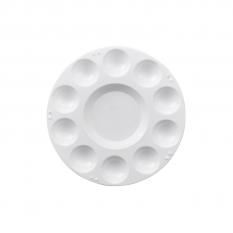 Paleta Plastikowa Okrągła 17,5cm  10 Komór 192