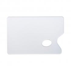 Paleta Plastikowa Prostokątna Gładka 19x29cm Grubosc 2mm 03587