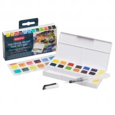 Farby Derwent Inktense Paint Pan 12 Travel Set Palette 01 2302636