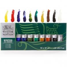 Farby Olejne Winsor Newton Winton Oil Colour 10 X 37 ml 1490619